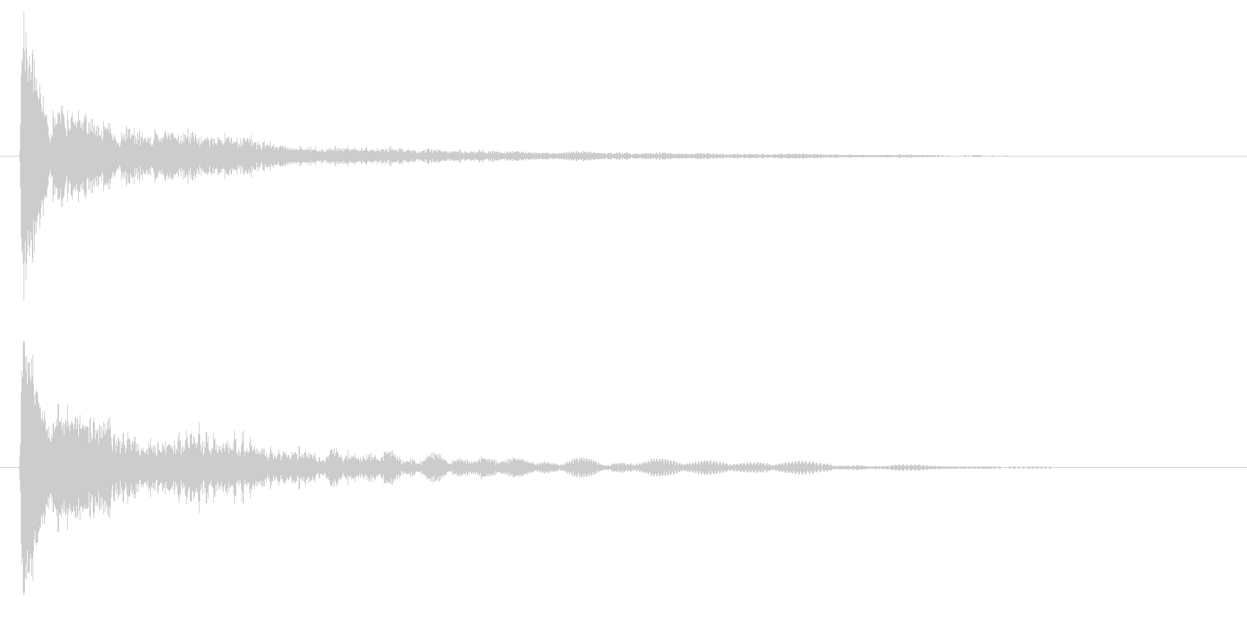 擬音【きゅーんふぉー】192kbps …の未再生の波形