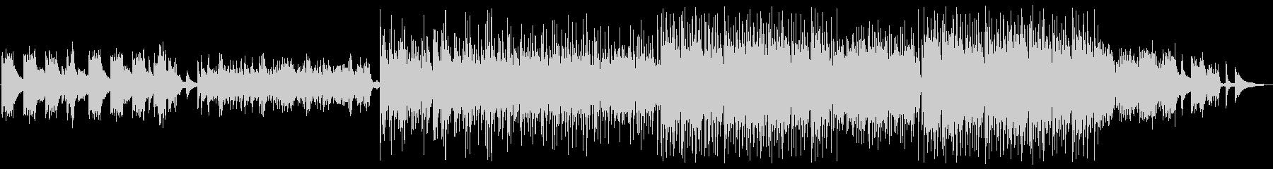 美しく優しいメロディのヒーリングサウンドの未再生の波形