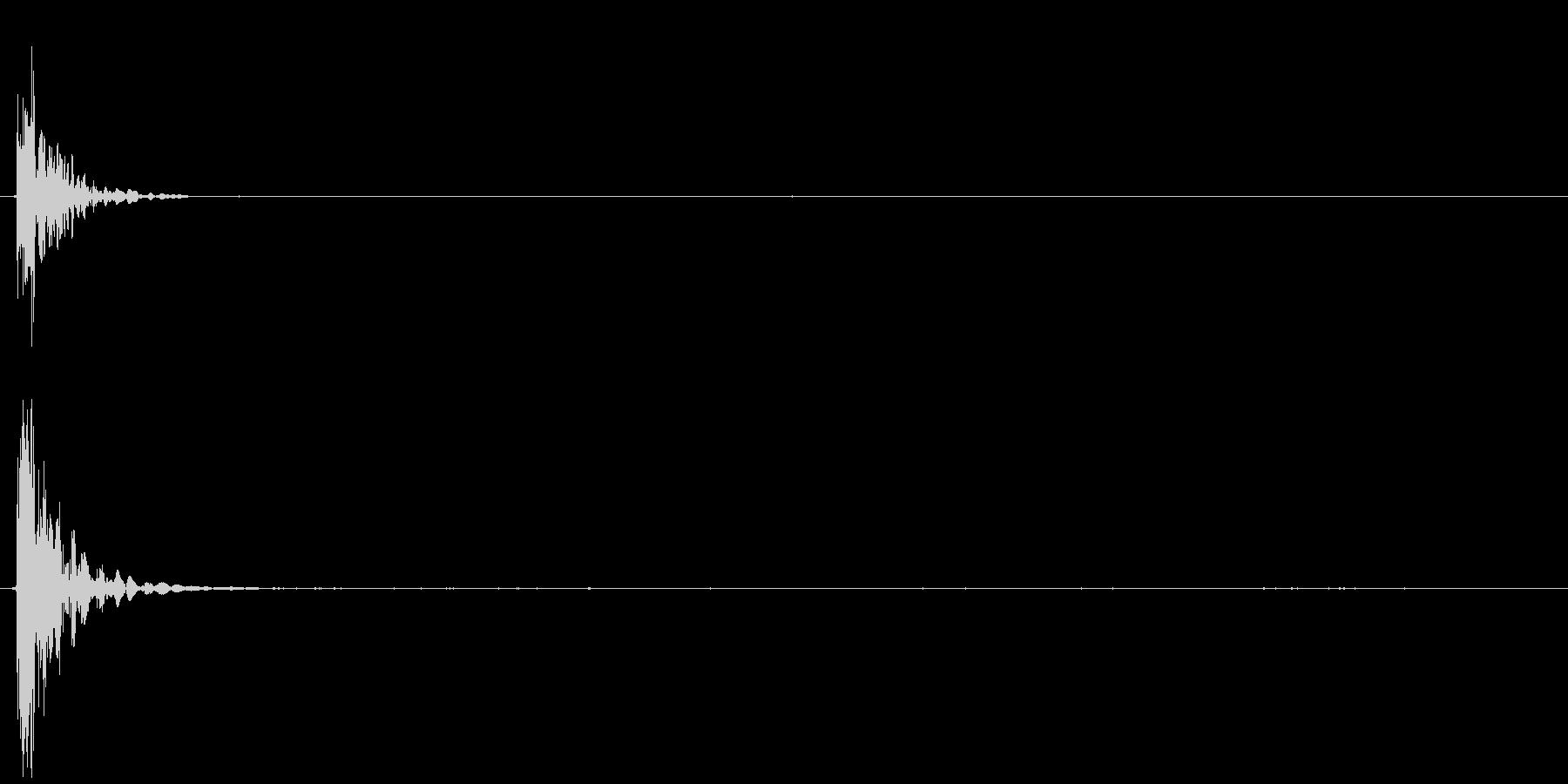 弓矢03の未再生の波形