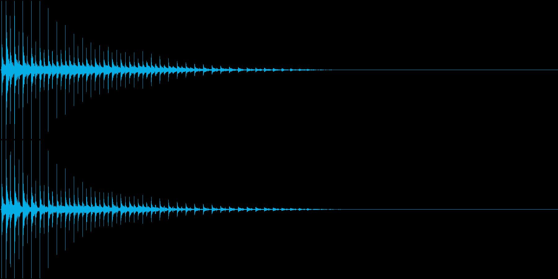 TVFX ボケ・ギャグ・ズッコケ風 SEの再生済みの波形