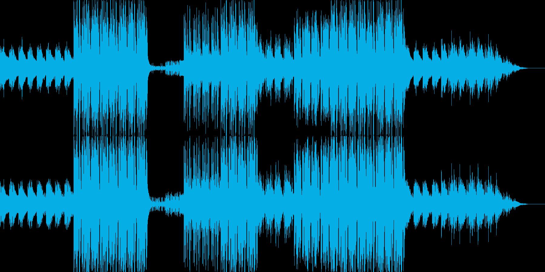 哀愁感漂うR&Bテイストのポップスの再生済みの波形
