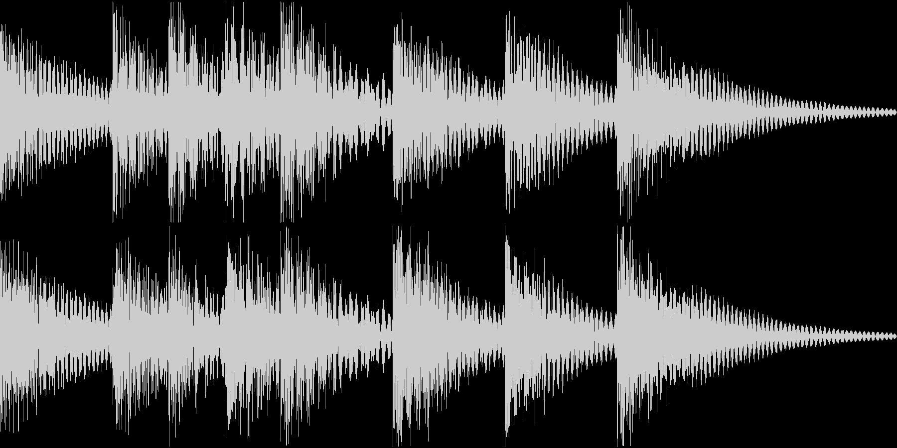 シンプルベル お知らせ ハテナ ? 11の未再生の波形