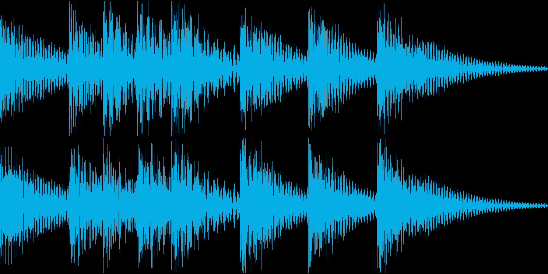 シンプルベル お知らせ ハテナ ? 11の再生済みの波形