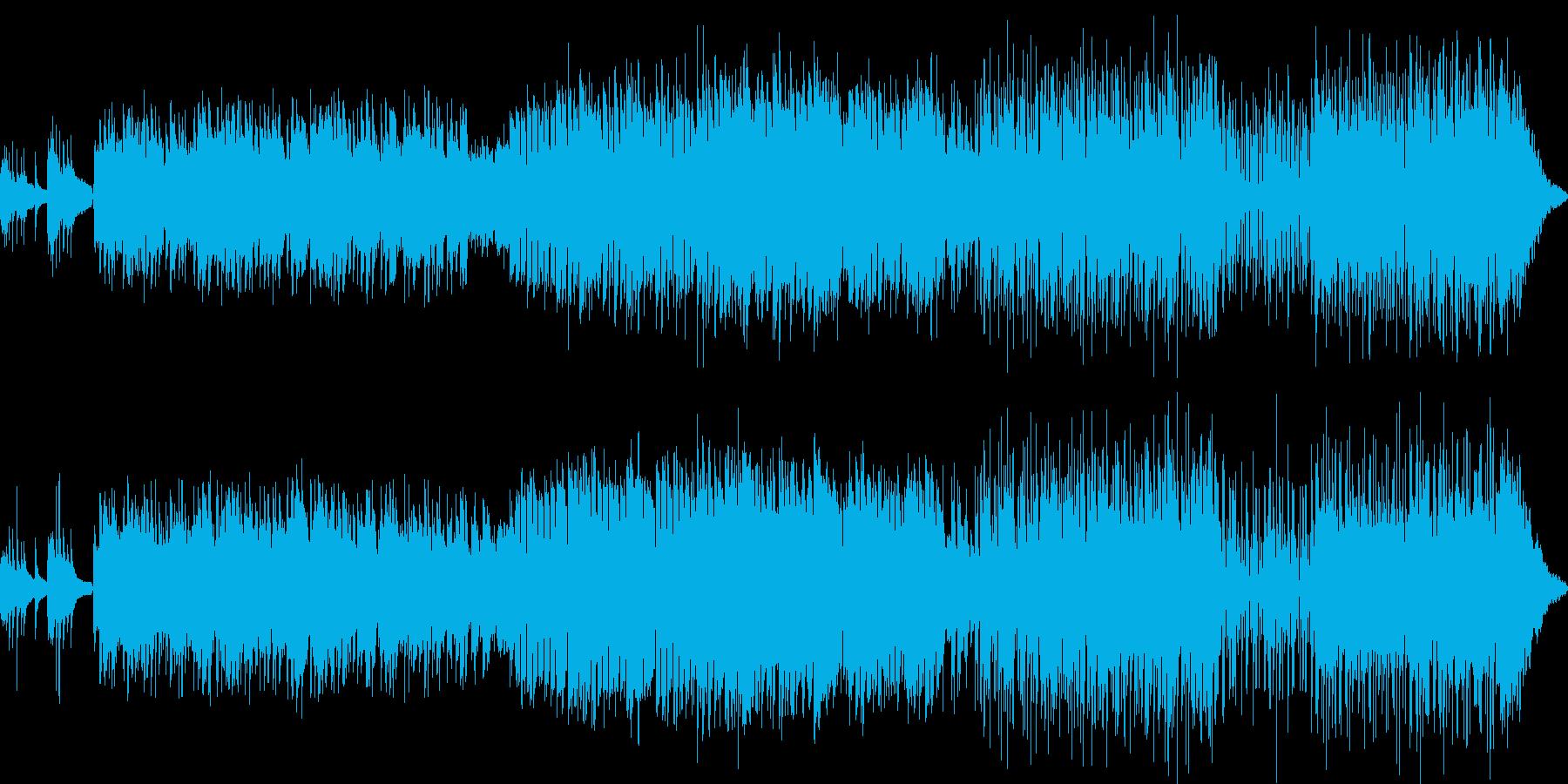繊細なケルティック・トラッド風ポップの再生済みの波形