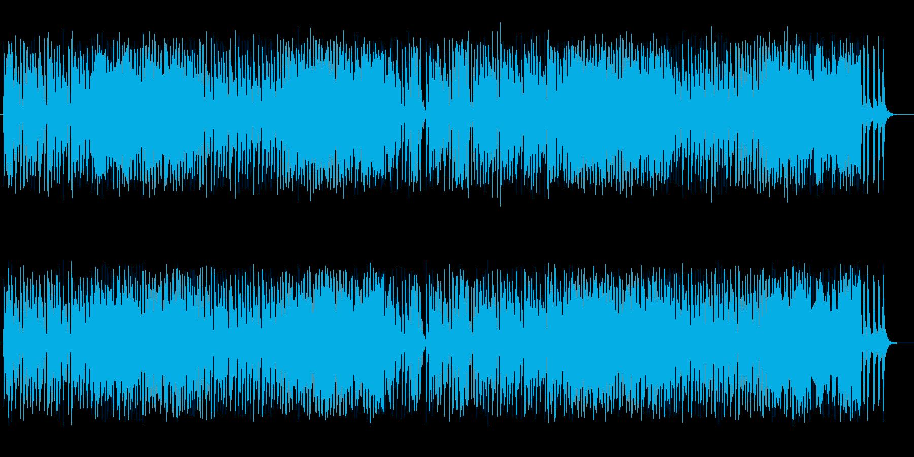 小踊りしそうな軽快なピアノポップの再生済みの波形