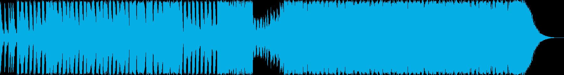 和風ダンスミュージック?の再生済みの波形