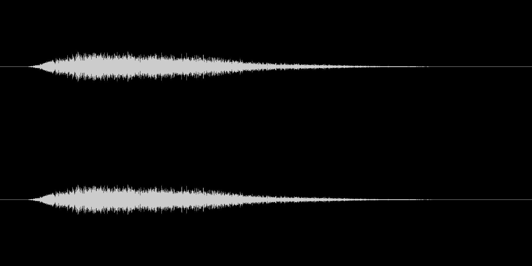 【風 合成02-4】の未再生の波形