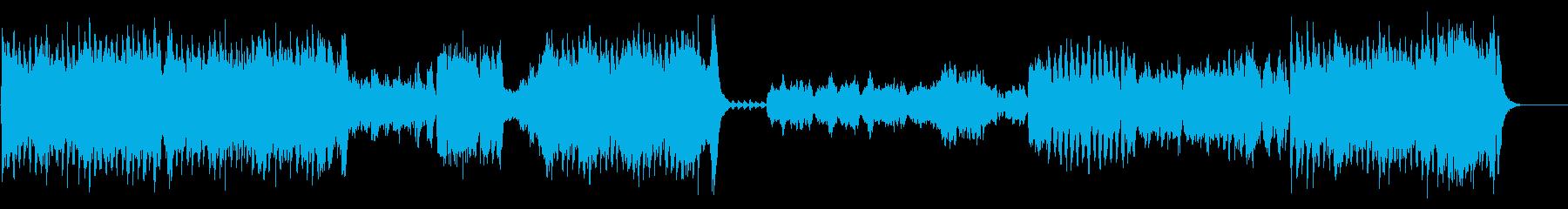 『カルメン』序曲 オーケストラの再生済みの波形