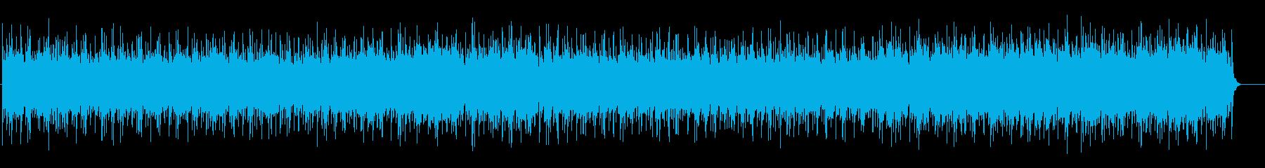 素朴なフォークポップス(フルサイズ)の再生済みの波形