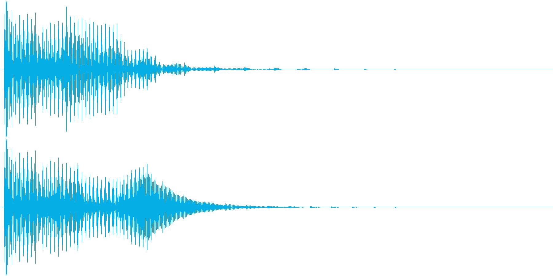 音響処理を意識した短い効果音です。の再生済みの波形