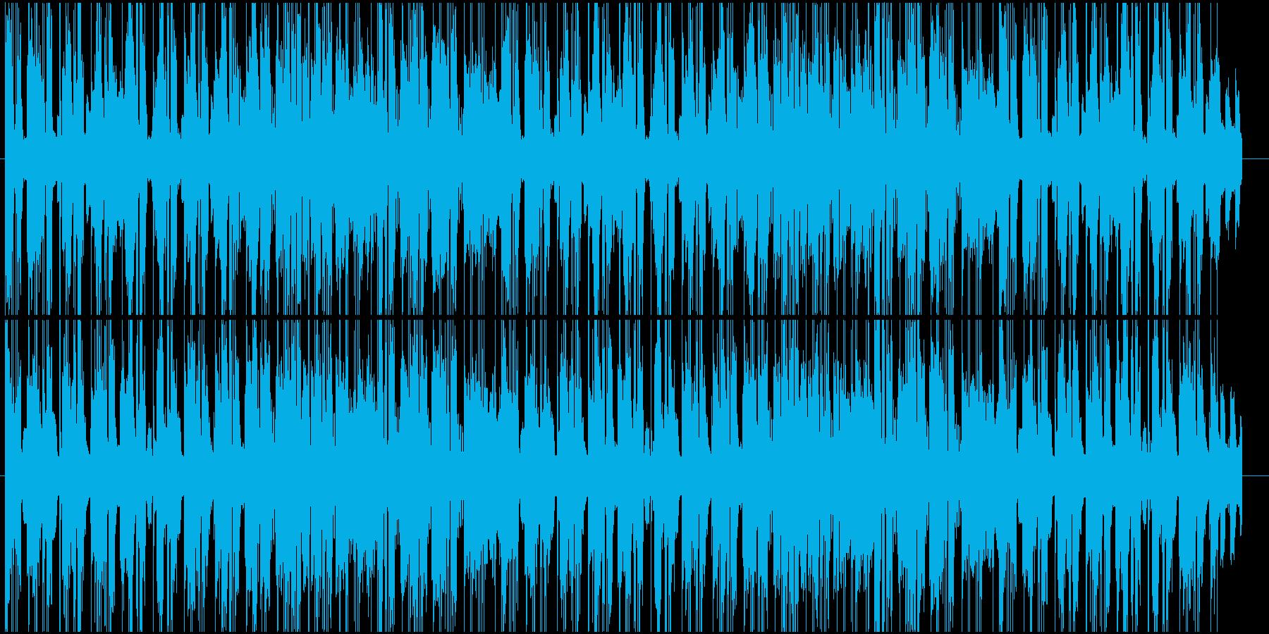 エレピが心地よいR&BジャズBGMの再生済みの波形