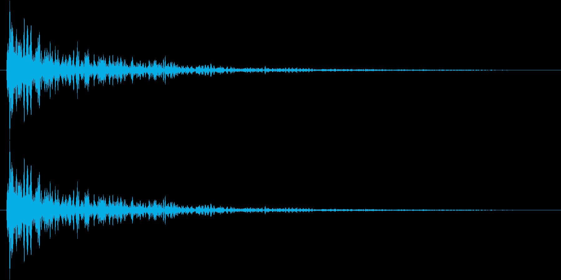 ビン!(不思議な音)の再生済みの波形