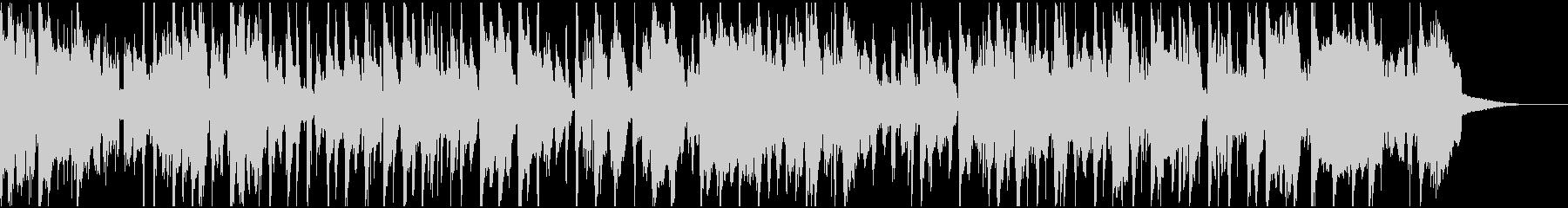 トランペットの響きが美しいスロージャズの未再生の波形