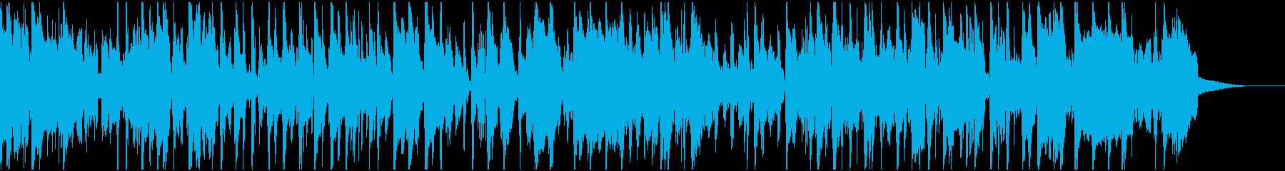トランペットの響きが美しいスロージャズの再生済みの波形