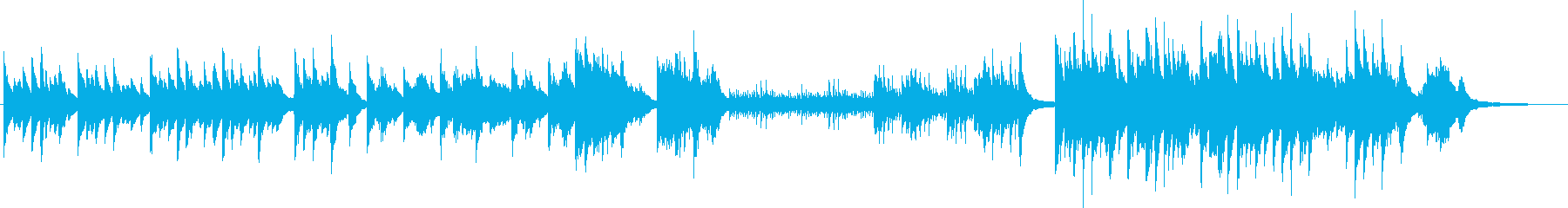 和風のピアノ曲。ストリングスなども有り。の再生済みの波形