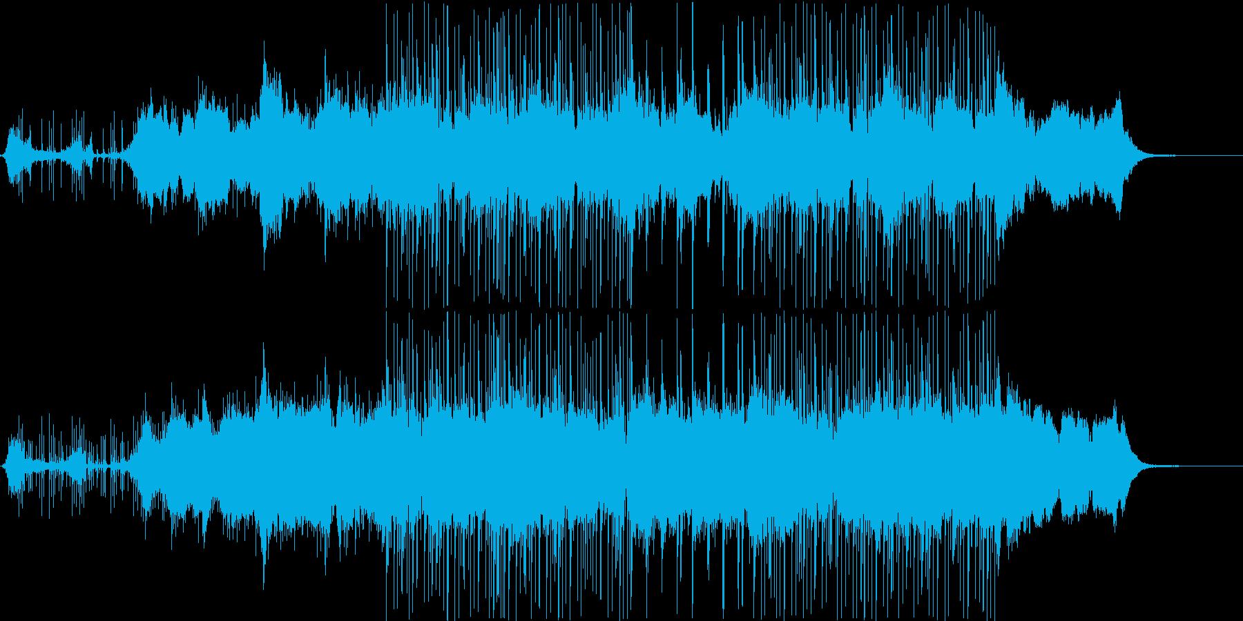 張り詰めた空気の静かな会話シーン v2の再生済みの波形