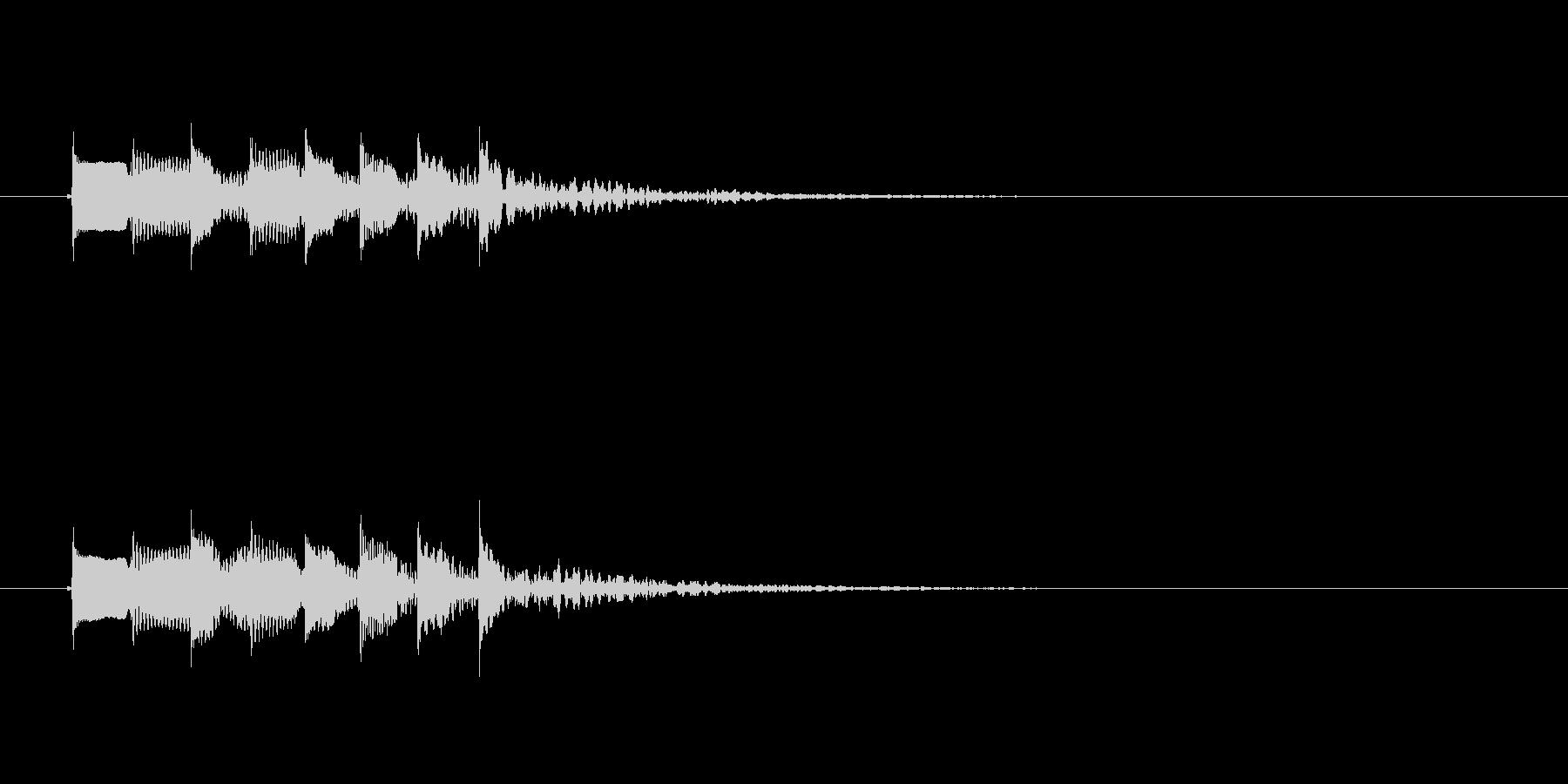 ポピンポパポポピンの未再生の波形