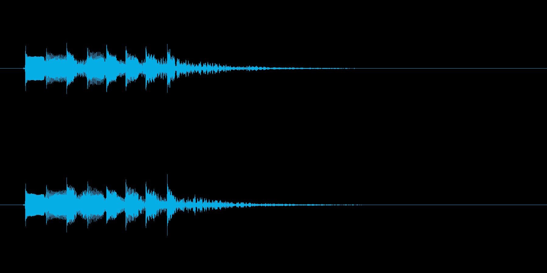 ポピンポパポポピンの再生済みの波形