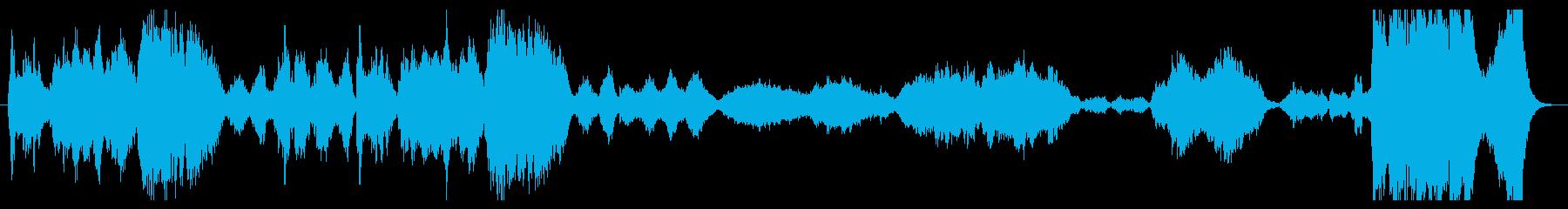 ファンタジーの序章の再生済みの波形