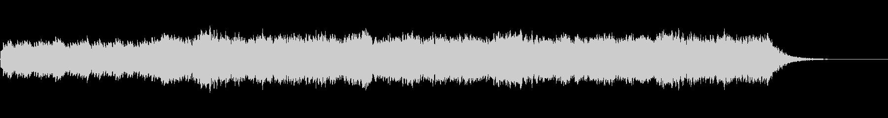 幻想的なピアノ BGM  感動の場面にの未再生の波形