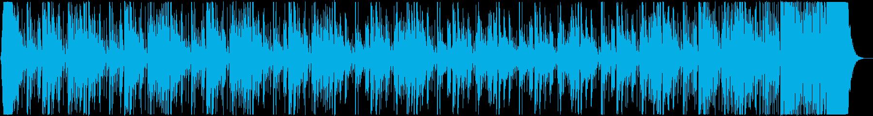 どっしりとした、儀式感と打ち込みの融合曲の再生済みの波形