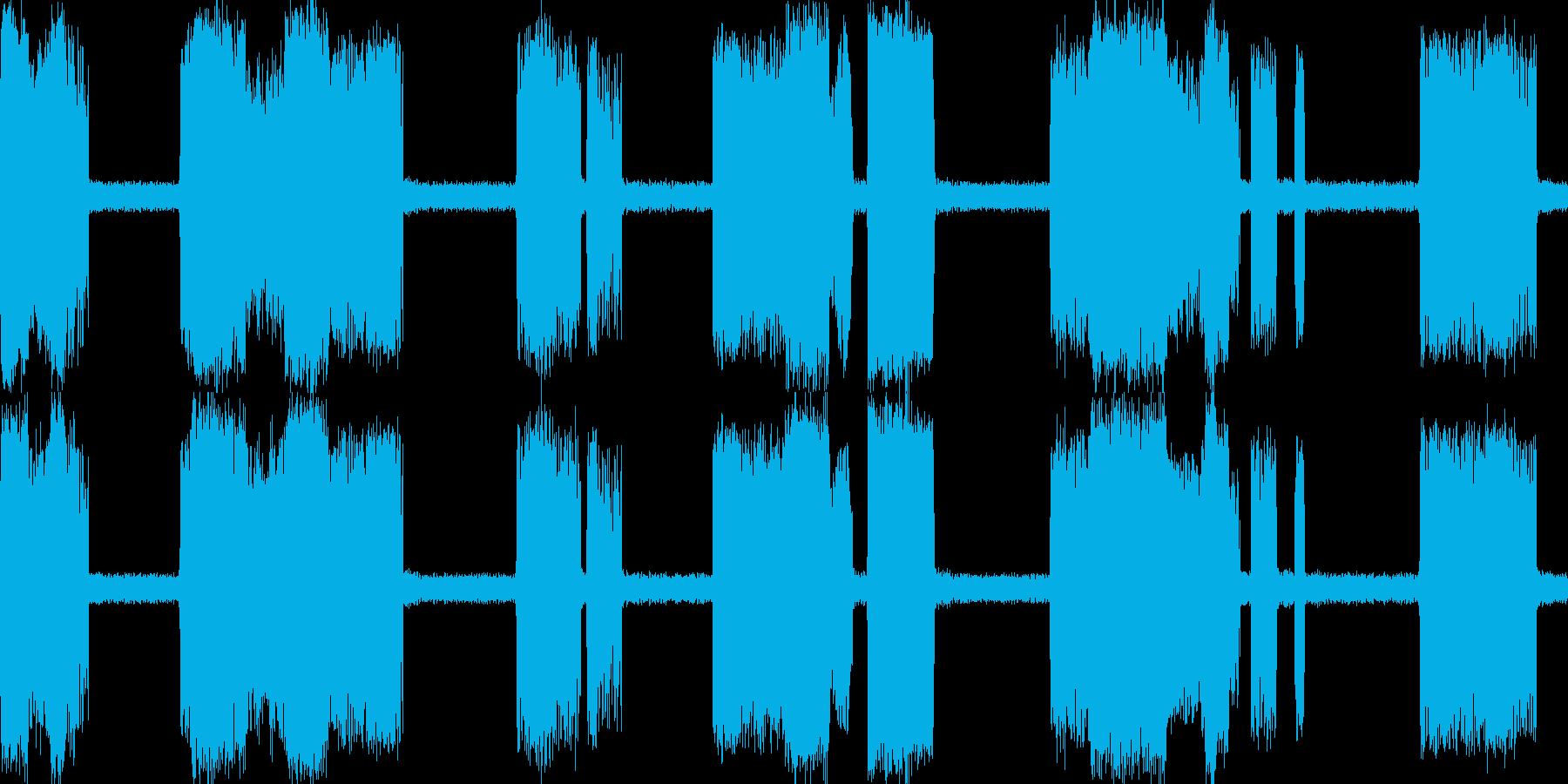 電気バチバチの再生済みの波形