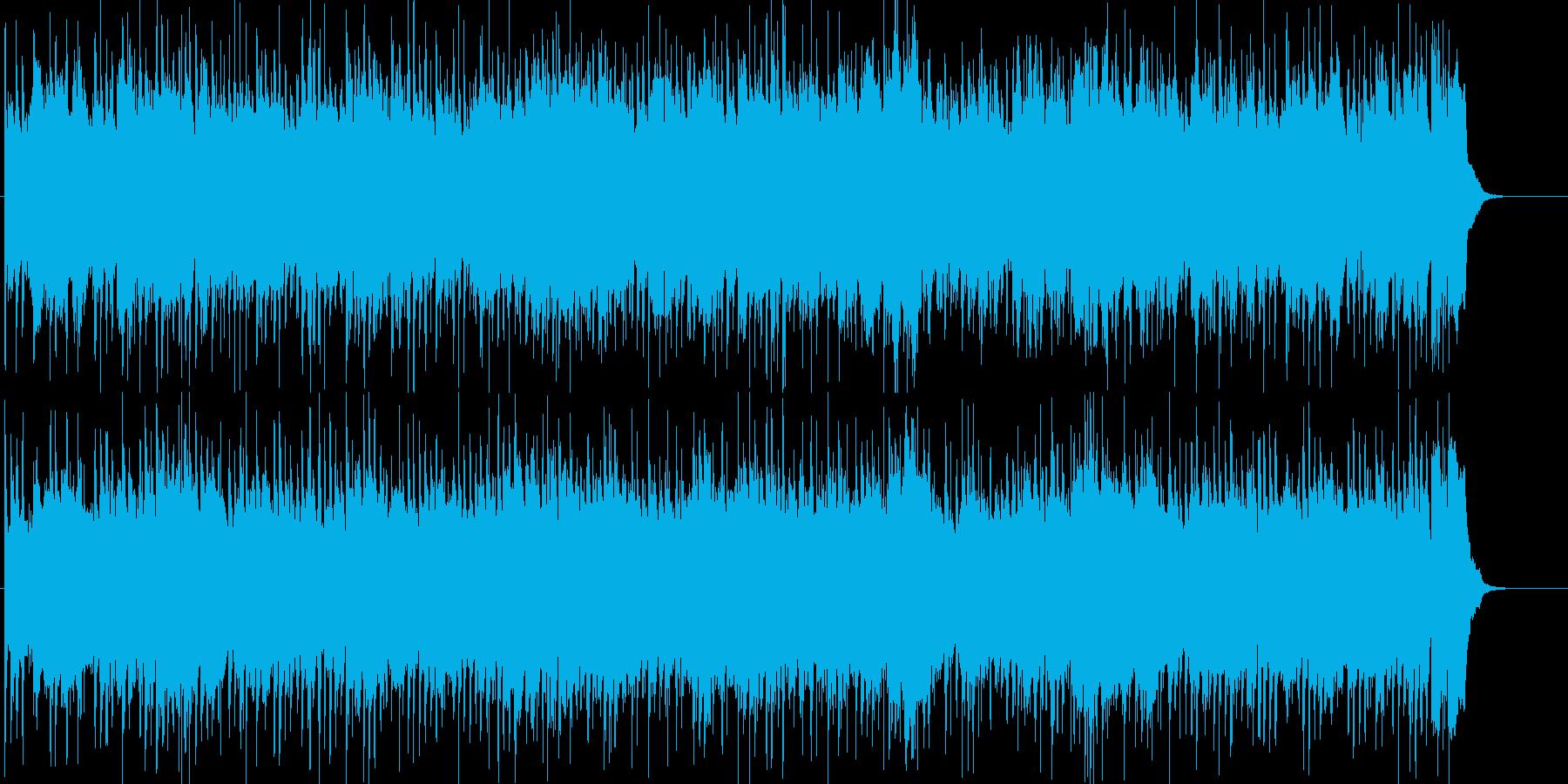 楽しいドライブをイメージしたポップロックの再生済みの波形