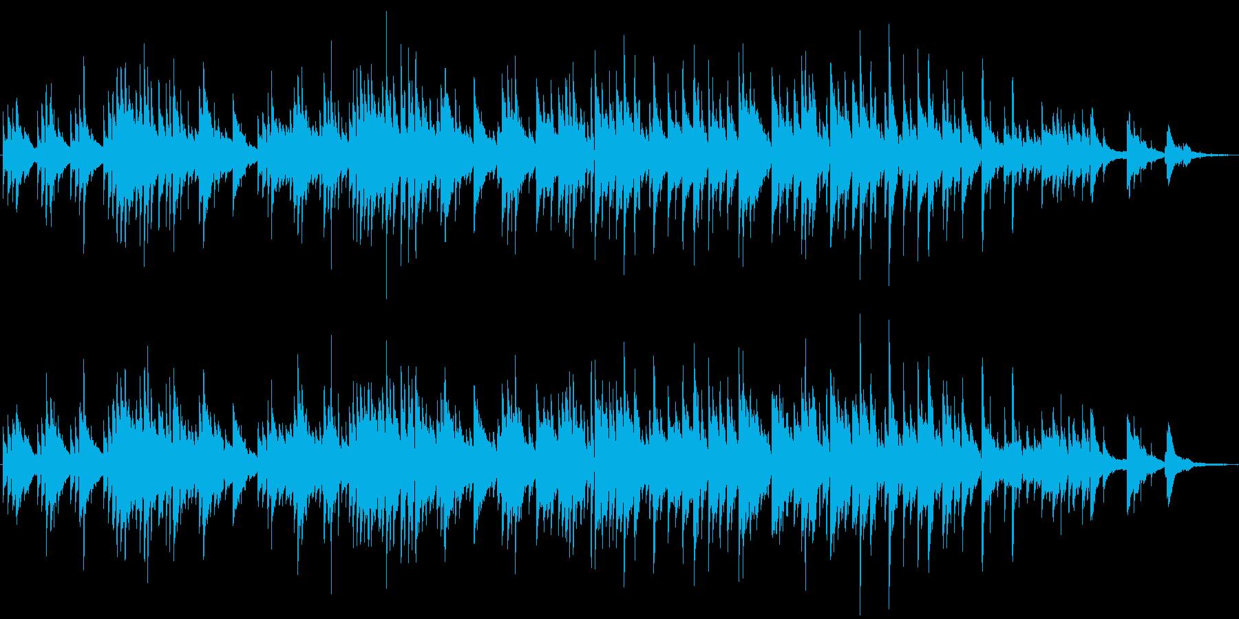 ギターデュオによる、しんみりせつない曲の再生済みの波形