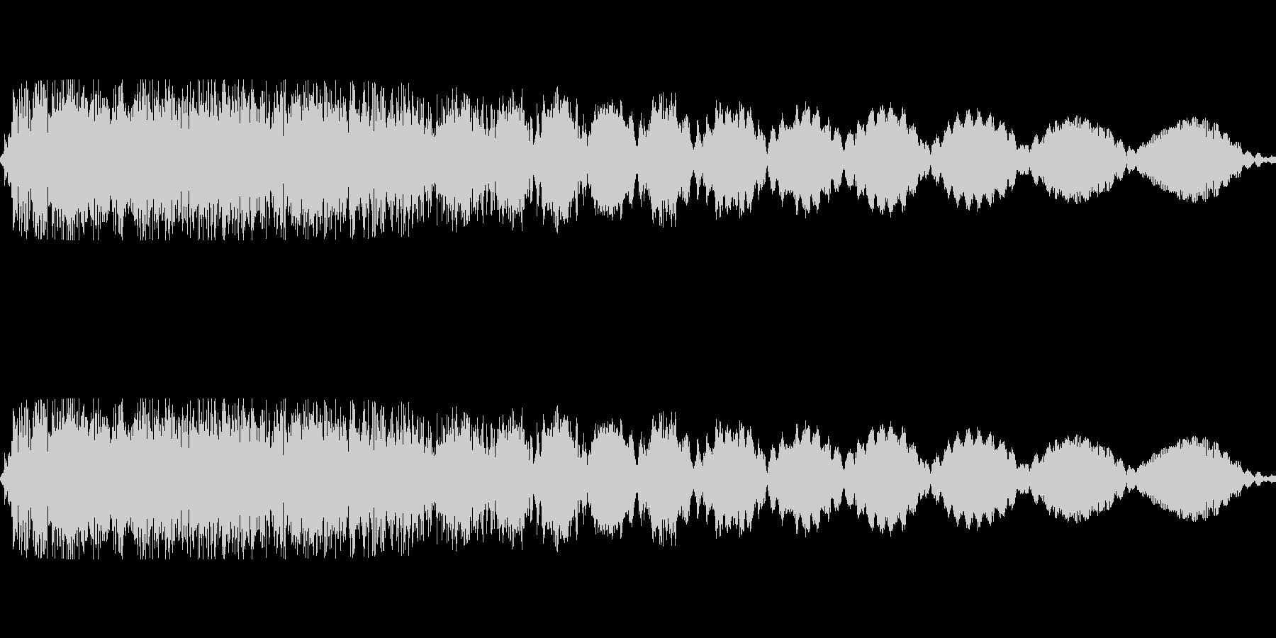 ピロロロ(電源off 機械が止まる)の未再生の波形