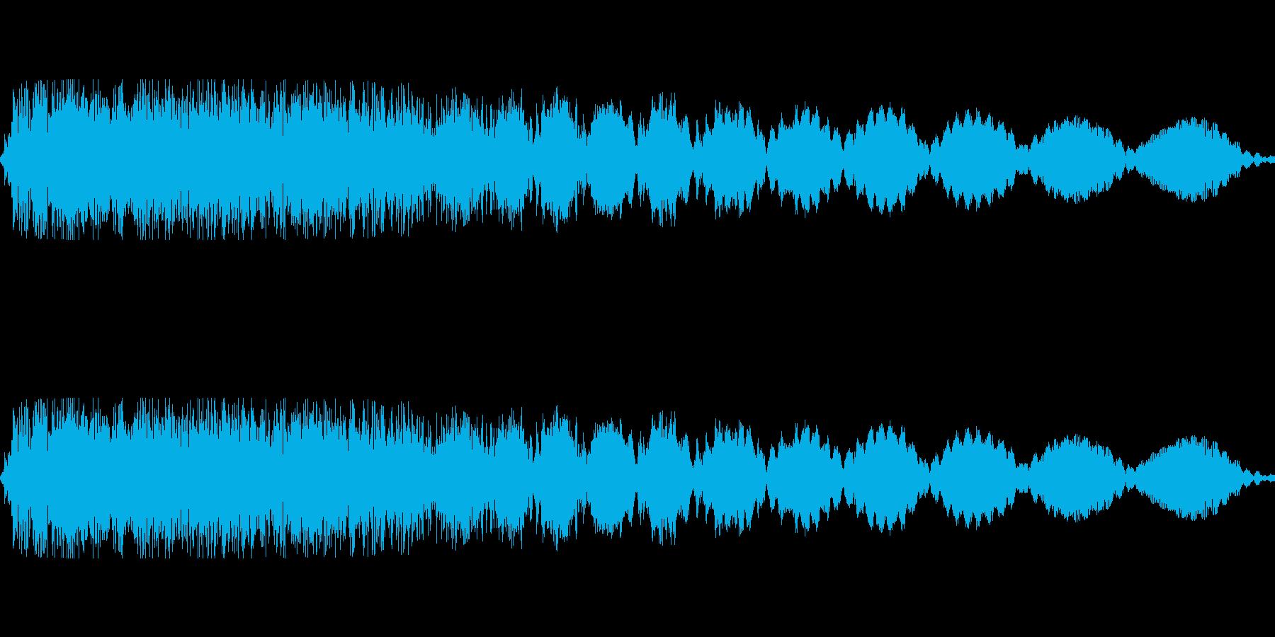 ピロロロ(電源off 機械が止まる)の再生済みの波形
