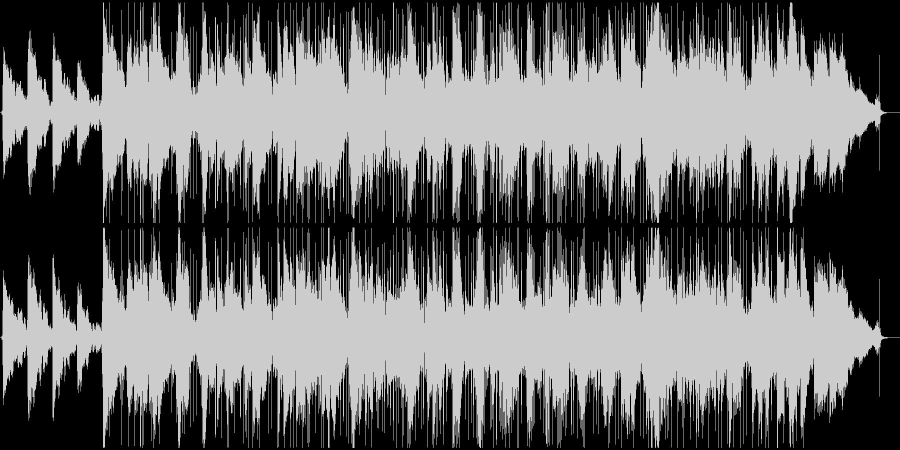切ないギターソロのsoulバラードの未再生の波形