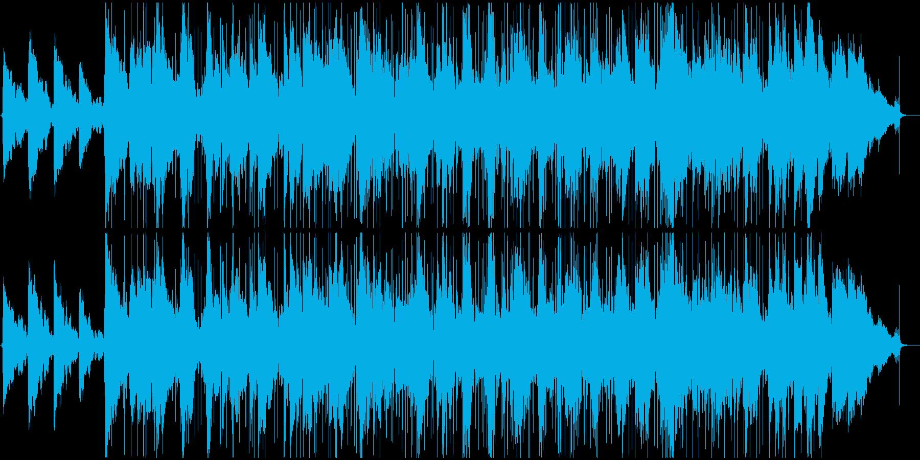 切ないギターソロのsoulバラードの再生済みの波形
