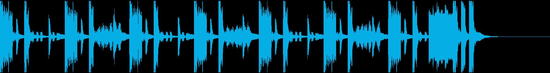 クイズの考え中BGM【15秒】の再生済みの波形