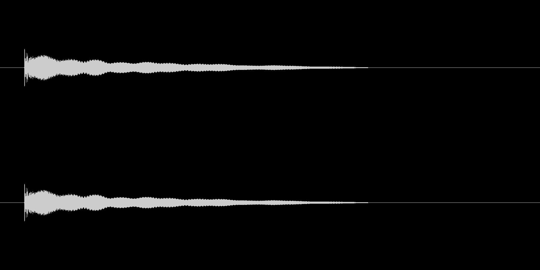 【チーン03-2】の未再生の波形