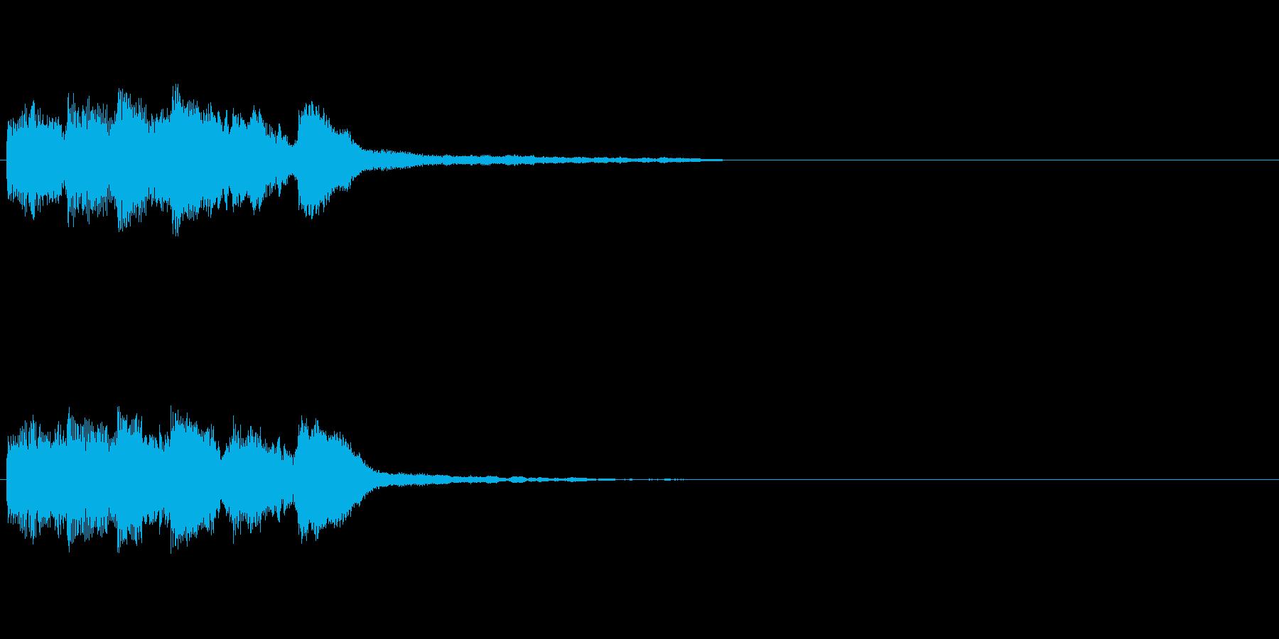 【ショートブリッジ09-1】の再生済みの波形