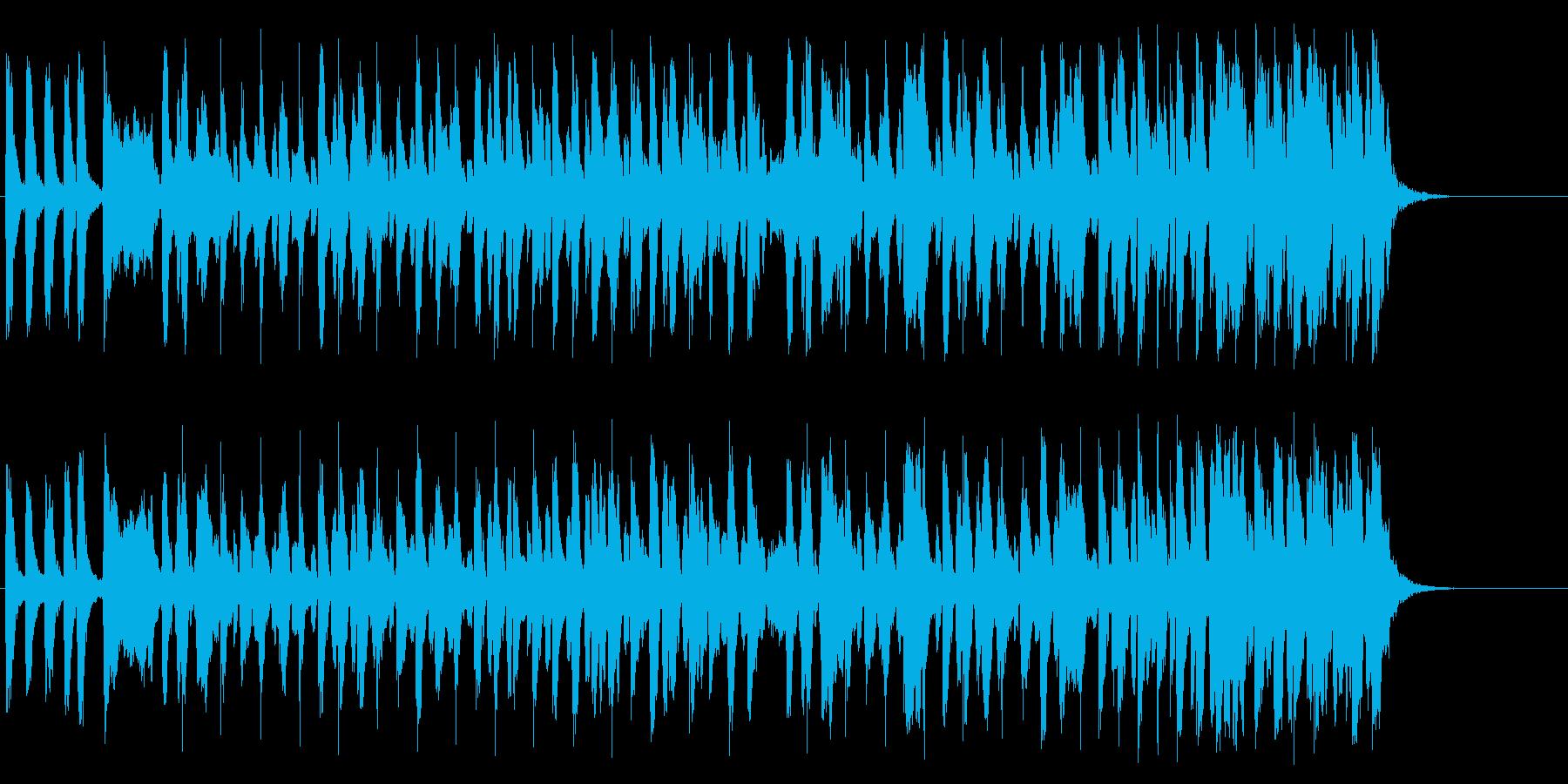 ご存知もしもしカメよで知られる童謡の再生済みの波形
