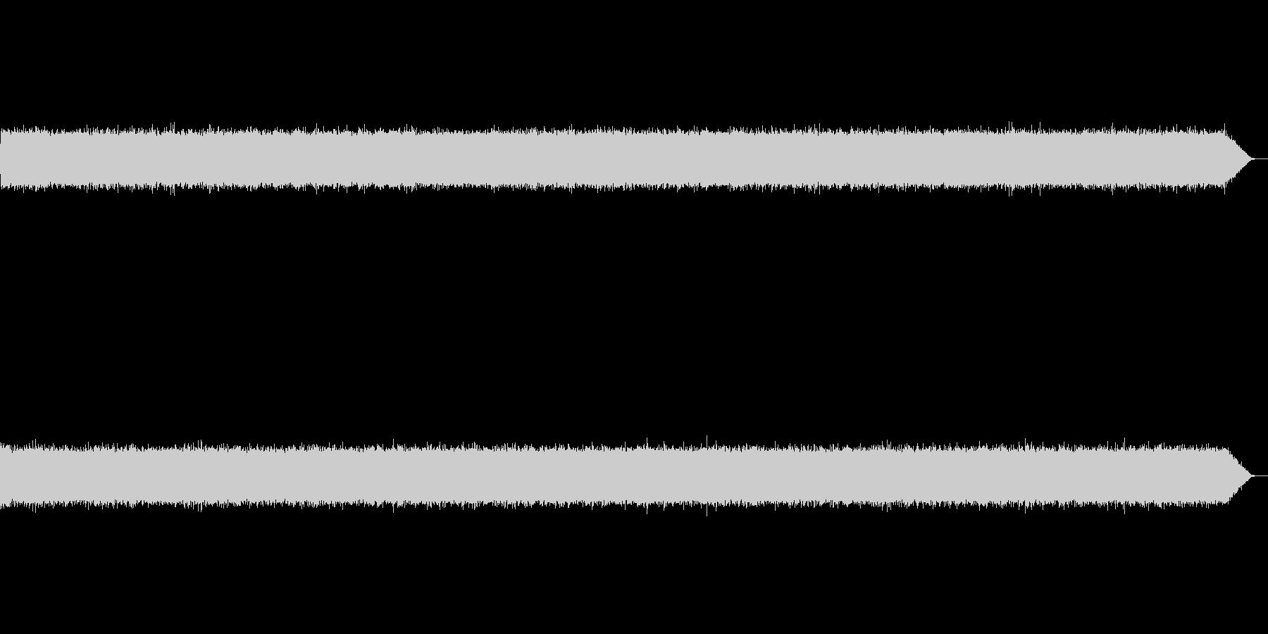 サーーー(テープノイズ-02-軽め)の未再生の波形