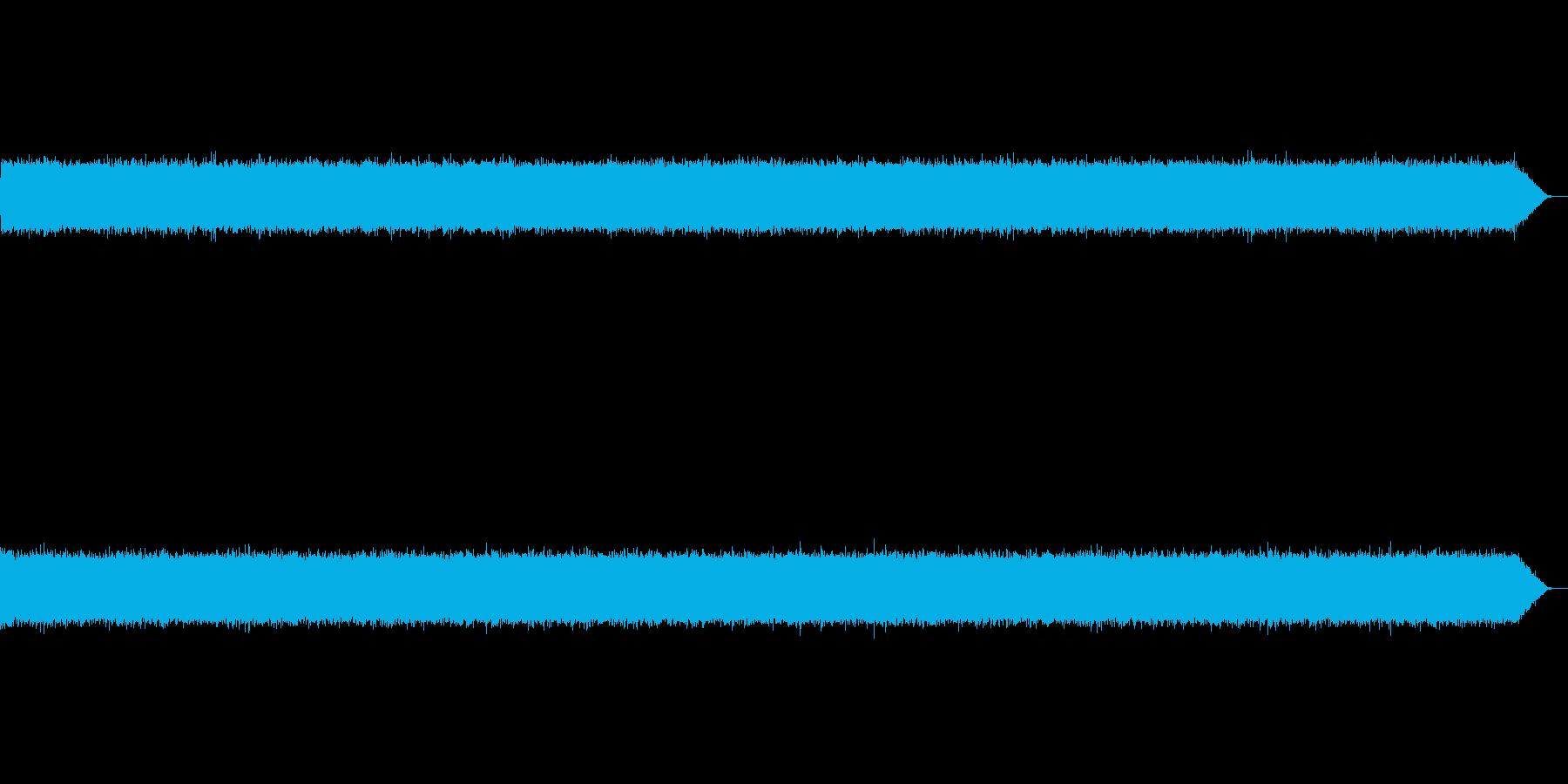 サーーー(テープノイズ-02-軽め)の再生済みの波形