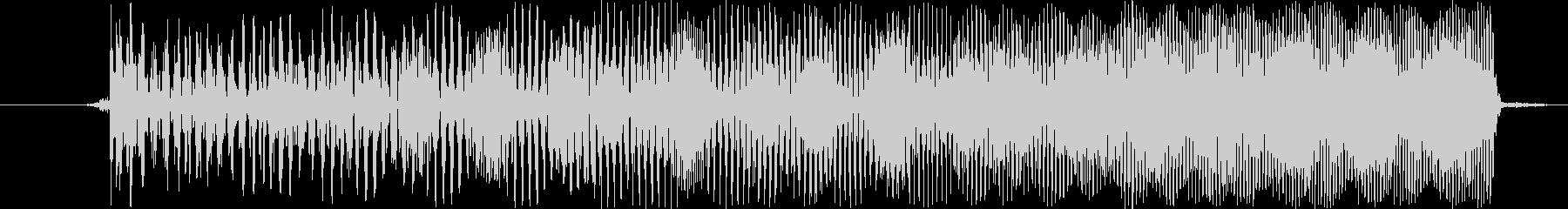 【ビー/ピュー/ビーム/サイバー武器】の未再生の波形