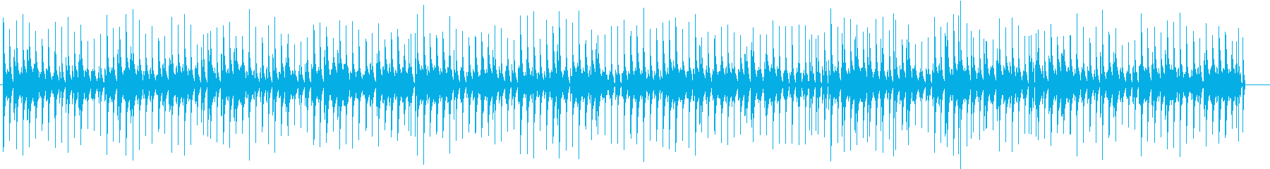 2 リズムゲーム風 陽気なバンジョーでの再生済みの波形
