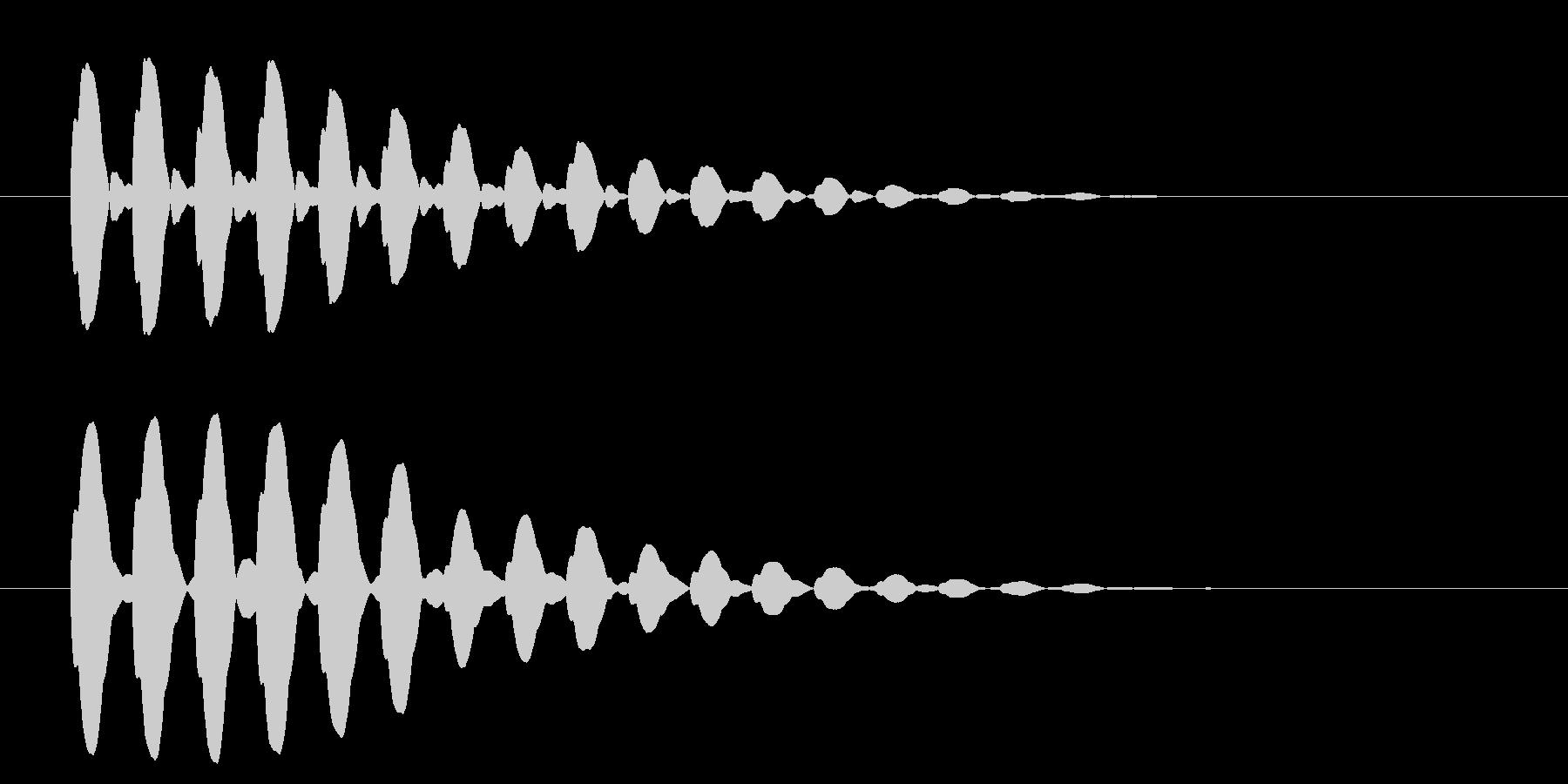 横断歩道 誘導音03-6の未再生の波形
