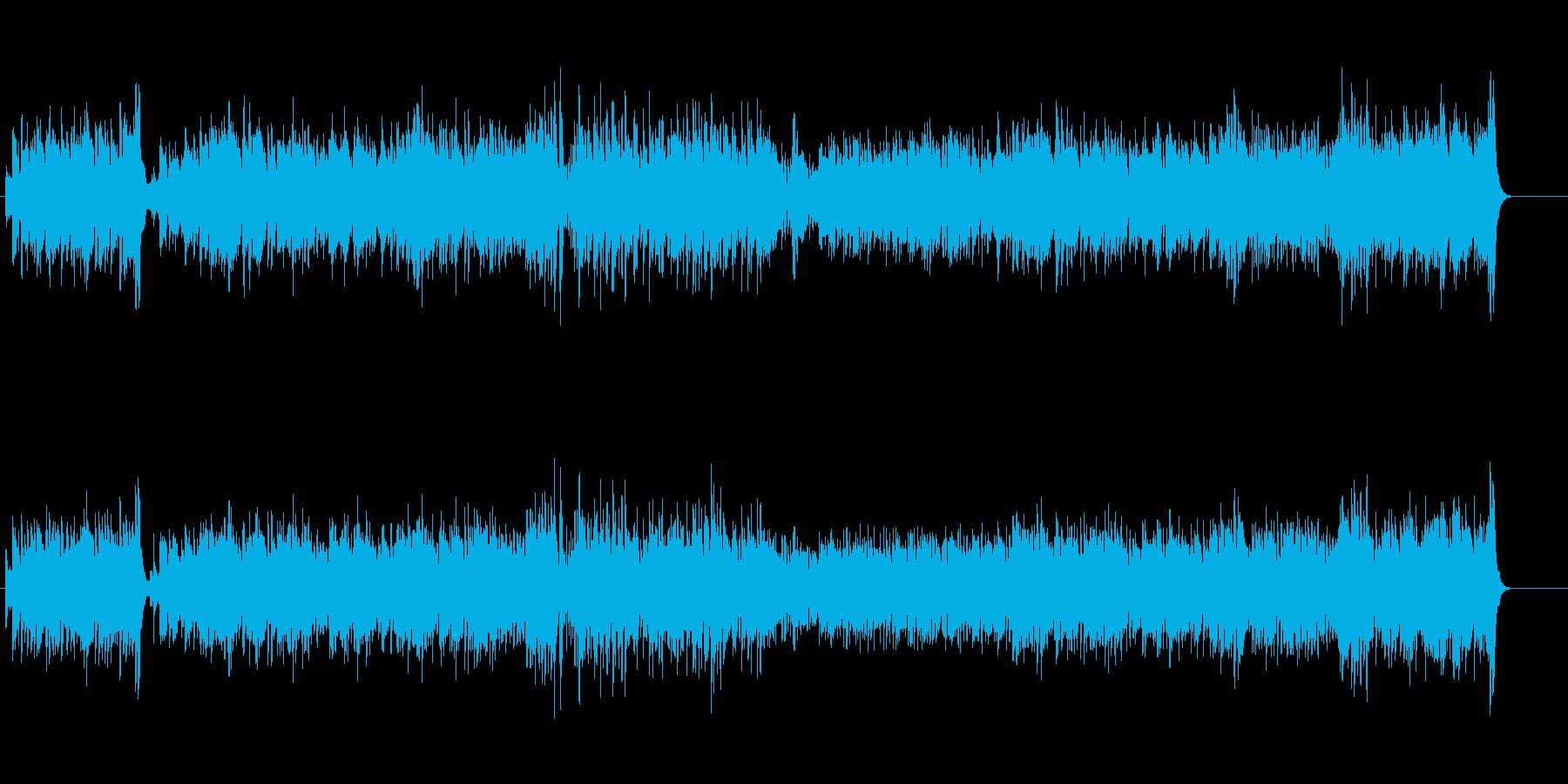 軽さ漂うムーディーなラテン・ミュージックの再生済みの波形