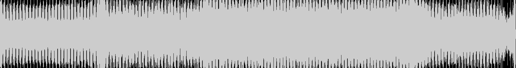 神秘的な音色のトランス【ループ素材】の未再生の波形