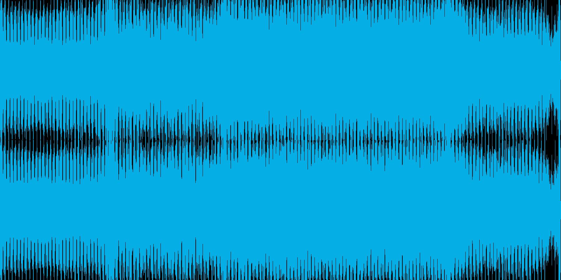 神秘的な音色のトランス【ループ素材】の再生済みの波形
