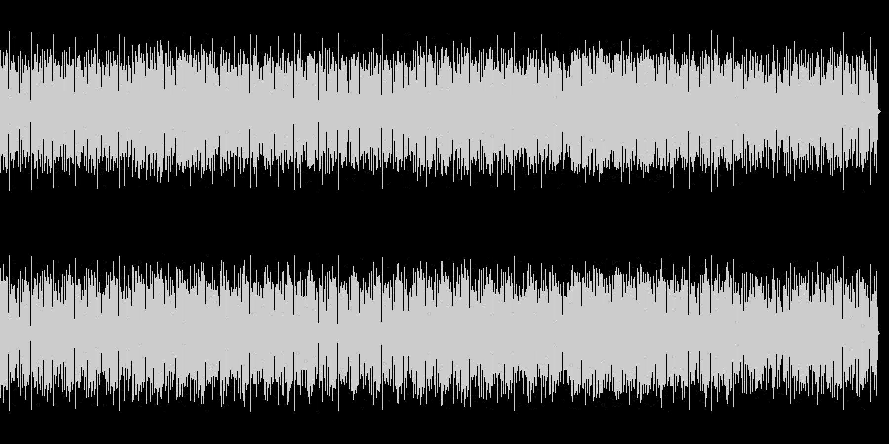 奇妙で幻想的なヒップホップの未再生の波形