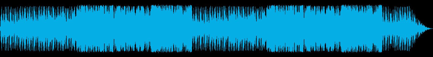 シミュレーションRPGのブリーフィング曲の再生済みの波形