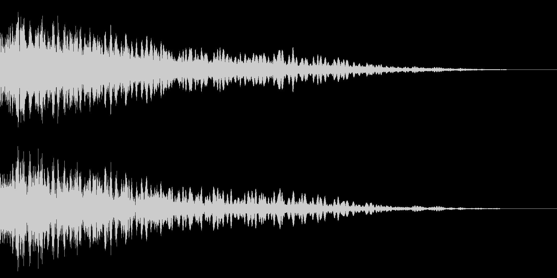 ホラー系アタック音82の未再生の波形