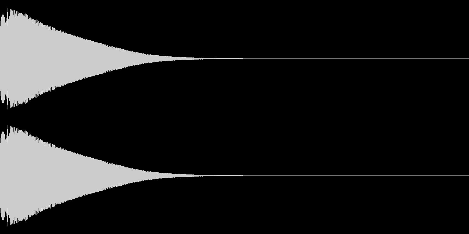ピリーン(金属的)の未再生の波形