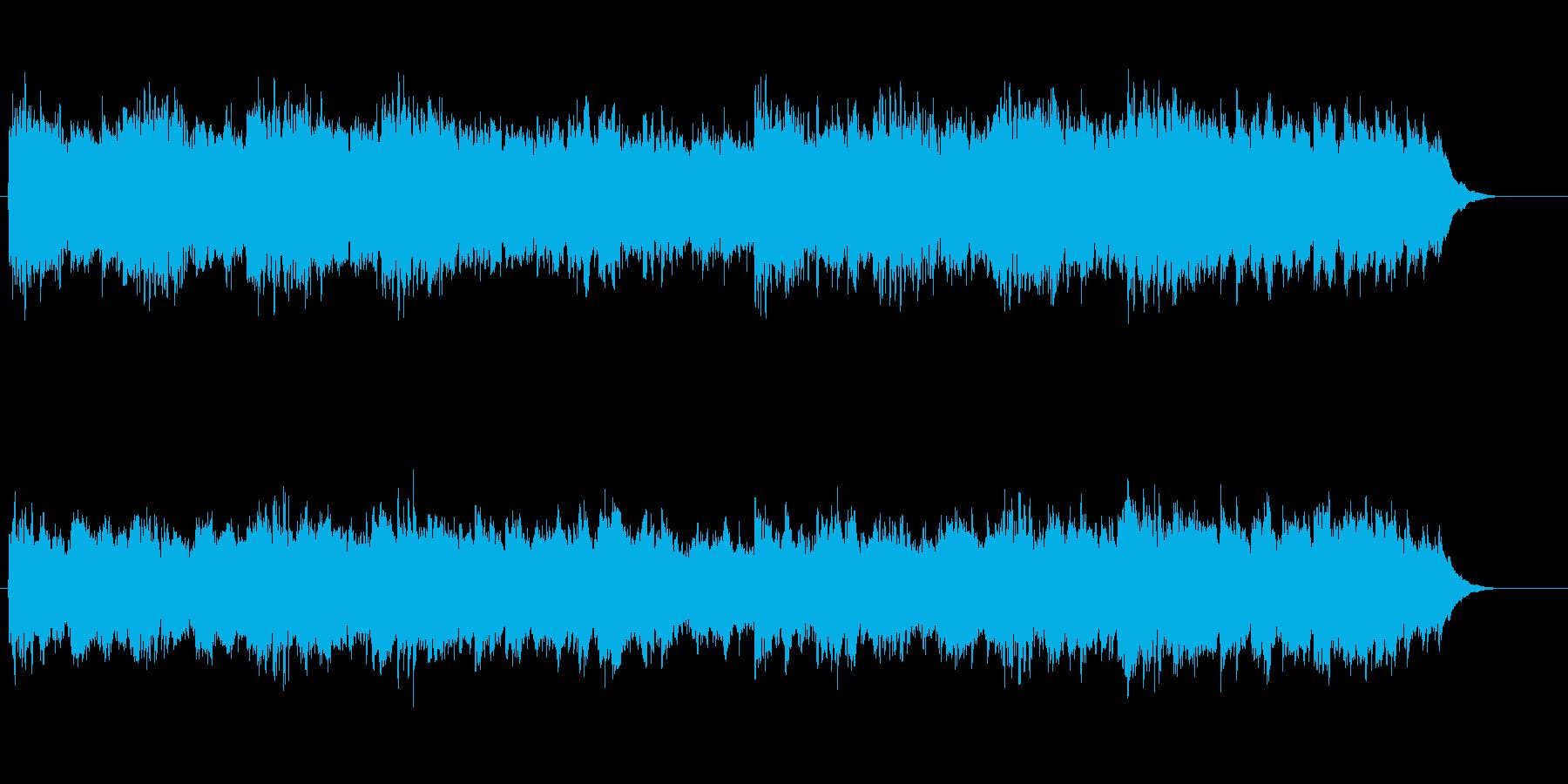 ほんわかアコースティック・ミュージックの再生済みの波形