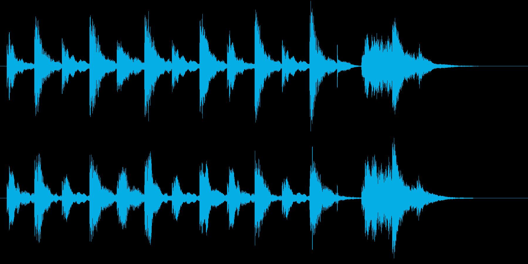 ほのぼの明るいライトオーケストラロゴ♪の再生済みの波形
